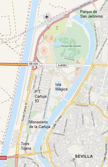 Visite panoramique de s ville 2 me partie - Isla de la cartuja ...